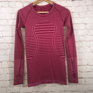 Long sleeve workout top by Lululemon